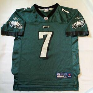 NFL Reebok Philadelphia Eagles Michael Mike Vick Green Boy's Youth Size L Large