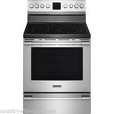 "Frigidaire PROFESSIONAL Stainless 30"" Electric Range Rear Controls FPEF3077QF"