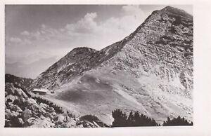 Nähe Oberau AK Krottenkopfhütte Weilheimer Hütte Kartenstempel Kleinformat