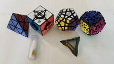 Moyu Wheel of Time puzzle, YJ Yuhu Megaminx, Gear Ball, Pyraminx Lot