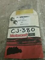Motorcraft CJ-380 Metering Jets (Lot of 2)