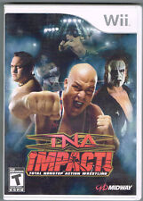 TNA Impact (Nintendo Wii, 2008) ~ Used Complete ~