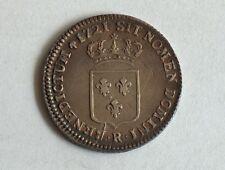 FRANCE 1721 R ORLEANS 1/3 Ecu Argent Silver LOUIS XV  un tier écu