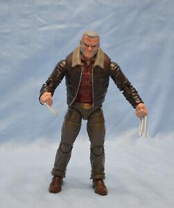 Marvel Legends WOLVERINE Old Man Logan from Warlock BAF series complete loose