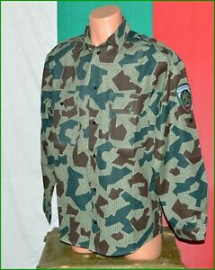 Bulgarian Border Police splinter Camouflage Coat Shirt sz.46