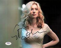 Elizabeth Debicki Signed 8x10 photo PSA/DNA Autographed