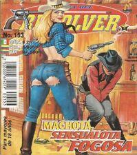 LA LEY DEL REVOLVER MEXICAN COMIC #153 MEXICO SPANISH WESTERN HISTORIETA 1997