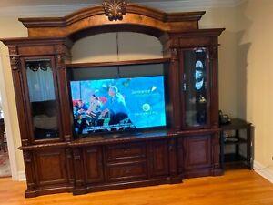 tv entertainment center wall unit