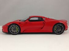 SPARK Porsche 918 Spyder Red Roof Closed Sealed Resin Model Car 1/18