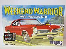 AMT 1/25th Scale Weekend Warrior 1967 Pontiac GTO Model Kit