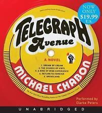 NEW Telegraph Avenue Low Price CD: A Novel by Michael Chabon