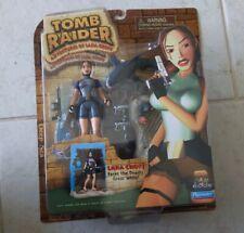 New Tomb Raider Lara Croft Deep Sea Figure/Diorama Vs Shark Playmates 1999! A50