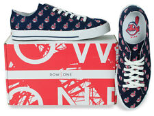 Cleveland Indians Team Apparel MLB Row One Men Women Kids Sneakers Low Top Shoes