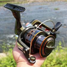 Spinning Fishing Reel Metal 5.2:1 Fishing Gear Tackle Saltwater Freshwater DE50