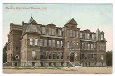 Aberdeen High School Moncton New Brunswick Canada 1910s postcard