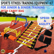 Ultimate Multi Sports Fitness Training Equipment Speed & Agility Kit Set