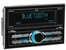 RV Wall Mount AV Stereo Bluetooth CD DVD Player Aux MP3 USB Double Din USB Port