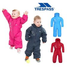 Trespass Babies Rain Suit Hooded All in One Breathable Dripdrop