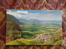 Vintage Postcard Nuuanu Pali, Oahu, Hawaii, Breath-Taking View
