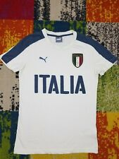 Excellent condition. PUMA FIGC ITALIA Casual T-shirt  Tee For Him Size S H0115-5