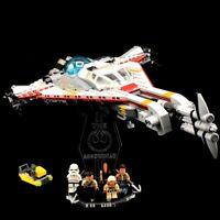 Acryl Display Stand Acrylglas Standfuss für LEGO 75186 The Arrowhead