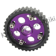 Purple DOHC Dual Cam Engine Pro-Series Adjustable Cam Gears 4G93 For Honda/Acura