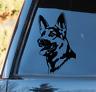 German Shepherd vinyl Decal / Sticker Car Window Decal Puppy Police Dog