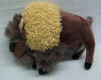 "Wildlife Artists NICE SOFT BUFFALO 6"" Plush STUFFED ANIMAL Toy"
