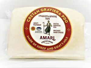 NEW SPECIAL Graviera Cretan Origin Hard Cheese with Sheep & Coat's Milk 300g