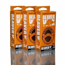 Biodegradable Beaver WARM TEMPERATURE ski SNOWBOARD WAX 155g (5.5 oz)