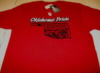 University of OKLAHOMA State Outline Wagon SOONERS PRIDE T-Shirt New! NWT  LARGE