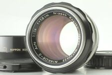 【 EXC+4 w/ Hood 】Nikon Nippon Kogaku Nikkor S Auto 5.8cm 58mm f1.4 Japan #442