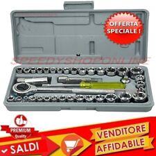 boccole chiavi bussole Kit chiavi a tubo in pollici 40 pezzi