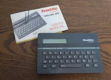 Vintage 1980s Franklin Spelling Ace Computer Sa-98 Euc w/Manual Works Great!