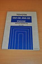 Werkstatthandbuch Toyota Celica Supra Cressida Crown Engine Motor 5M GE 6M GE 84