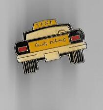 Vintage Missed Taxi Cab old enamel pin