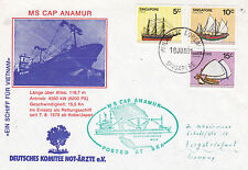 GERMAN RESCUE SHIP MS CAP ANAMUR A SHIPS CACHED COVER