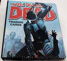 WALKING DEAD CRYPTOZOIC COMIC BOOK SET & BINDER COMIC-CON EXCLUSIVE 2012+
