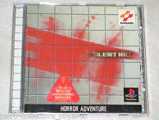 PS1 Horror Adventure Game SILENT HILL NTSC-J Japan Import PlayStation English