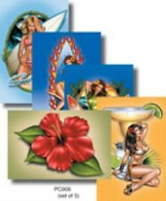 Michael Landefeld, Beach Lovers Pack Sexy Surfer Girls POST CARD -Postcards