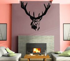 Elk Deer Animal Forest Hunting Kids  Mural  Wall Art Decor Vinyl Sticker z676