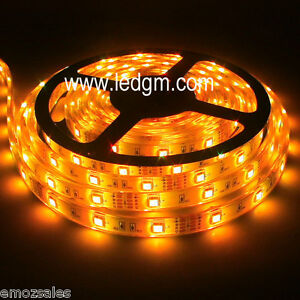 24volt Truck LED Strip Lighting Amber- Aust Importer/ Distributor 5 metre roll