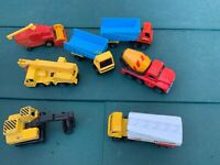 VINTAGE MATCHBOX LESNEY MODEL SUPERFAST Truck TANKER Crane Digger Lorry Bundle