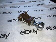 1949 Mercury heater blower dash switch knob bezel original OEM