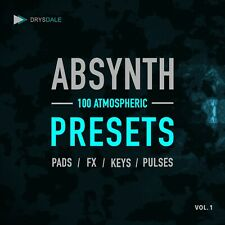 ABSYNTH PRESET PACK - 100 Atmospheric Presets - Native Instruments [E-Delivery]