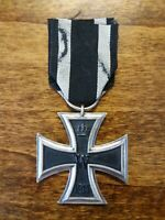 WW1 Original German Iron Cross with Ribbon - 2nd Class EK II 1914-1918