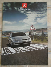 Citroen C5 range brochure Feb 2005