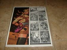 Space Runners Vixens Vacuum Art Portfolio by Steve Fast New Sealed Sexy Pin Up