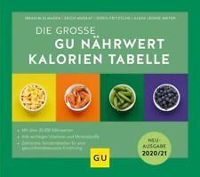 Nährwert-Kalorien-Tabelle, Die große GU