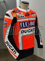 Ducati Motogp Motorbike/Motorcycle Racing Cowhide Leather Jacket for Men & Women